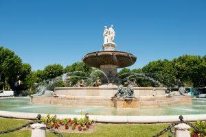 Aix-en-Provence ist die historische Hauptstadt der Provence und zählt rund 140.000 Einwohner.