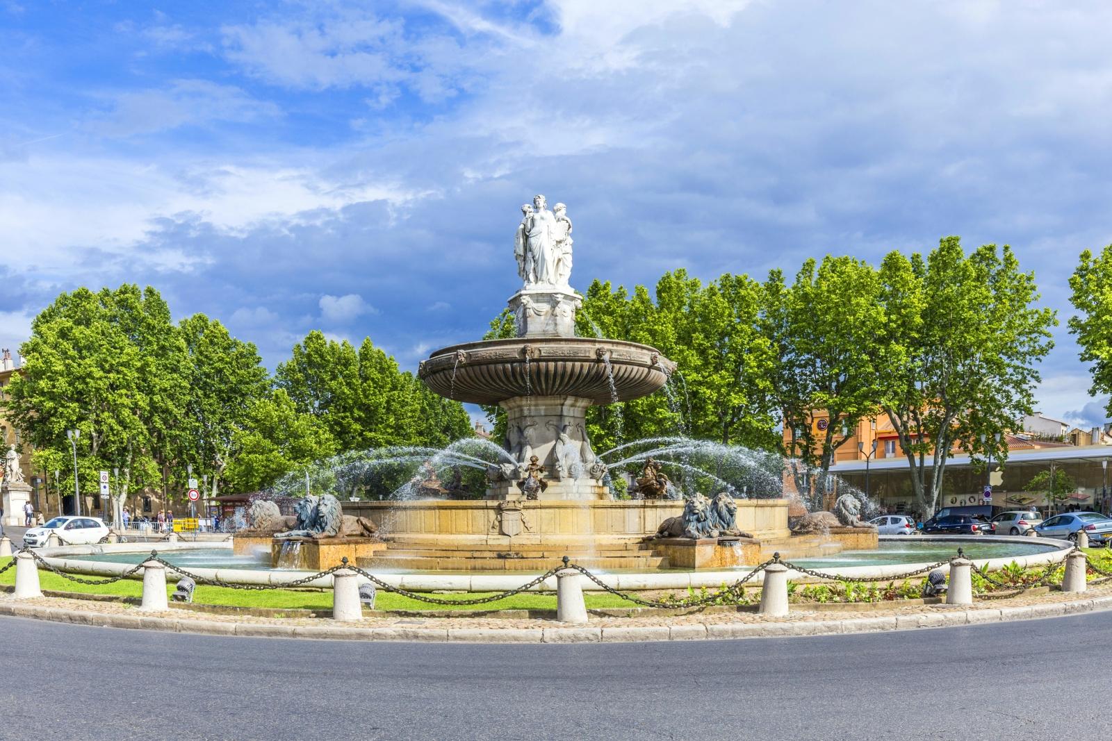 Aix en Provence  eine ganz besondere Stadt  provenceinfode