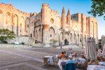 Der Papstpalast zu Avignon war die Residenz verschiedener Päpste und Gegenpäpste.