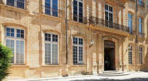 Aus dem vermeintlich schönsten Hôtel particulier von Aix-en-Provence wurde nun ein Kunstzentrum: Centre d'Art. Zum Auftakt der Ausstellungen in dem seit 1715 erbauten Gebäude gibt es eine Canaletto-Retrospektive mit hochkarätigen Leihgaben. Foto: www.caumont-centredart.com