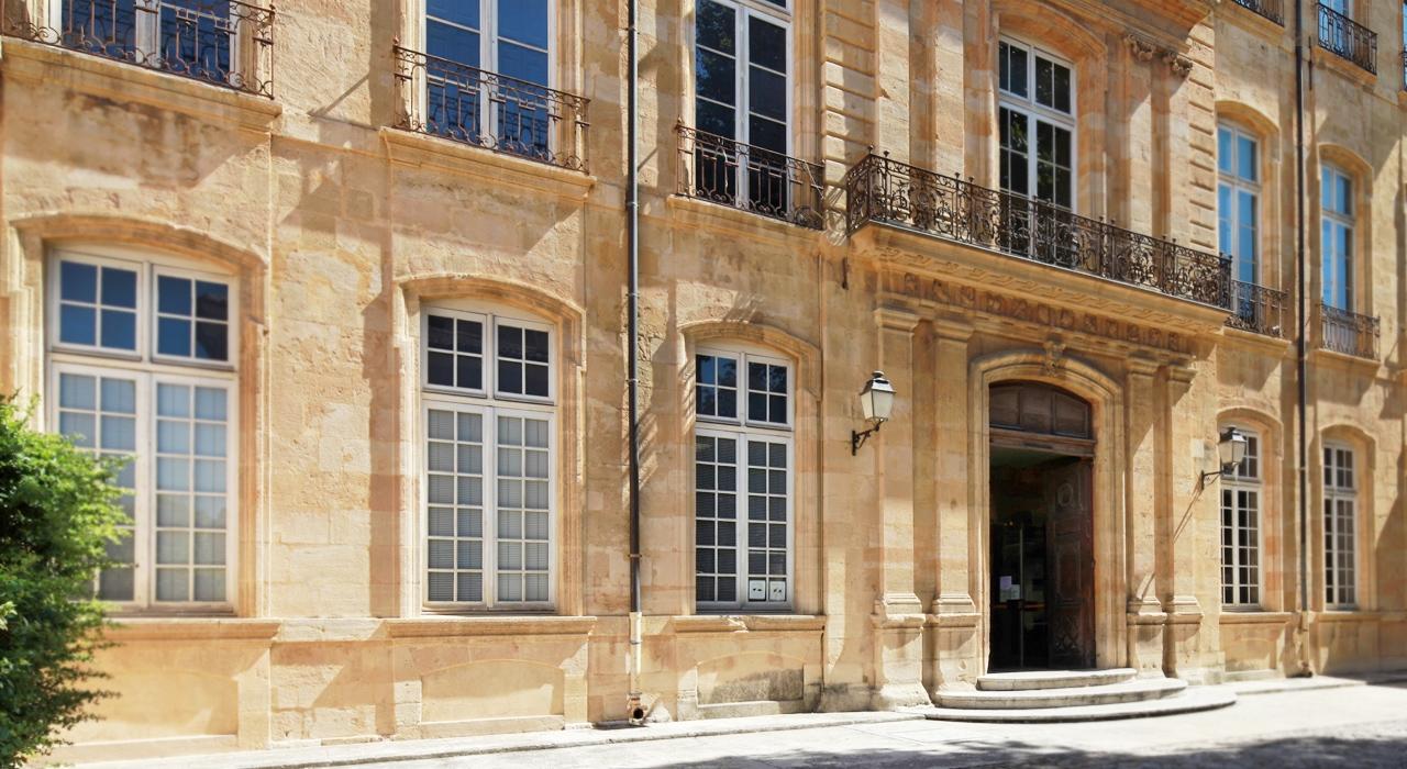 Aix en provence neues kunstzentrum in altem h tel - Hotel de caumont aix en provence ...