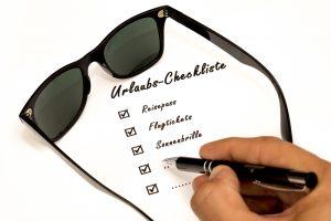 Allgemeine Checkliste: Was nehme ich mit in den Provence-Urlaub?