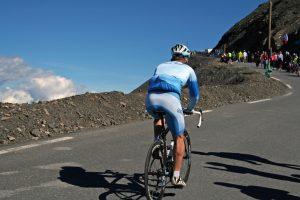 Bereits viermal wurde der Pass in der Geschichte der Tour de France überquert.
