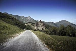 Die Passhöhe des Colle di Tenda liegt in 1871 Metern Höhe.