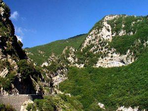 Die Schluchten des Piaon liegen nahe Sospel.