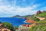 Der Esterel ist ein Mittelgebirge an der Côte d'Azur.