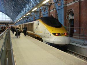 Eurostar wird ab dem 1. Mai 2015 die Direktverbindung London-Marseille anbieten. Der Hochgeschwindigkeitszug benötigt knapp sechseinhalb Stunden für die Strecke. Foto: Wikipedia, Oxyman