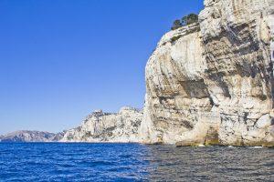 Frankreichs höchste Steilküste, Cap Canaille, verfügt über eine atemberaubende Schönheit.