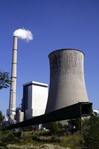 Das Kraftwerk Provence liegt zwischen den Städten Gardanne und Meyreuil.