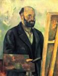 Um 1890 erstellte der französische Maler Paul Cézanne ein Selbstportrait. Foto: Paul Cézanne [Public domain or Public domain], via Wikimedia Commons