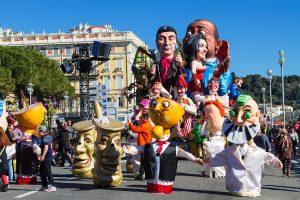 Mindestens 400.000 Menschen besuchen den Karneval in Nizza Jahr für Jahr.