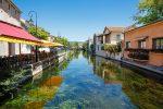 Die zahlreichen Kanäle in L'Isle-sur-la-Sorgue verschafften der Stadt in der Provence den Namen Venedig des Comtat.