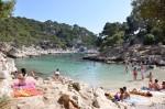 Viele Badegäste tummeln sich in den Buchten von La Ciotat.