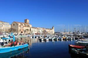 Der Hafen in La Ciotat ist nicht nur ein Yacht- sondern auch ein Fischereihafen.