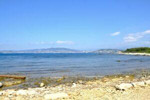Die Îles de Lérins sind eine kleine Inselgruppe vor der Küste bei Cannes.