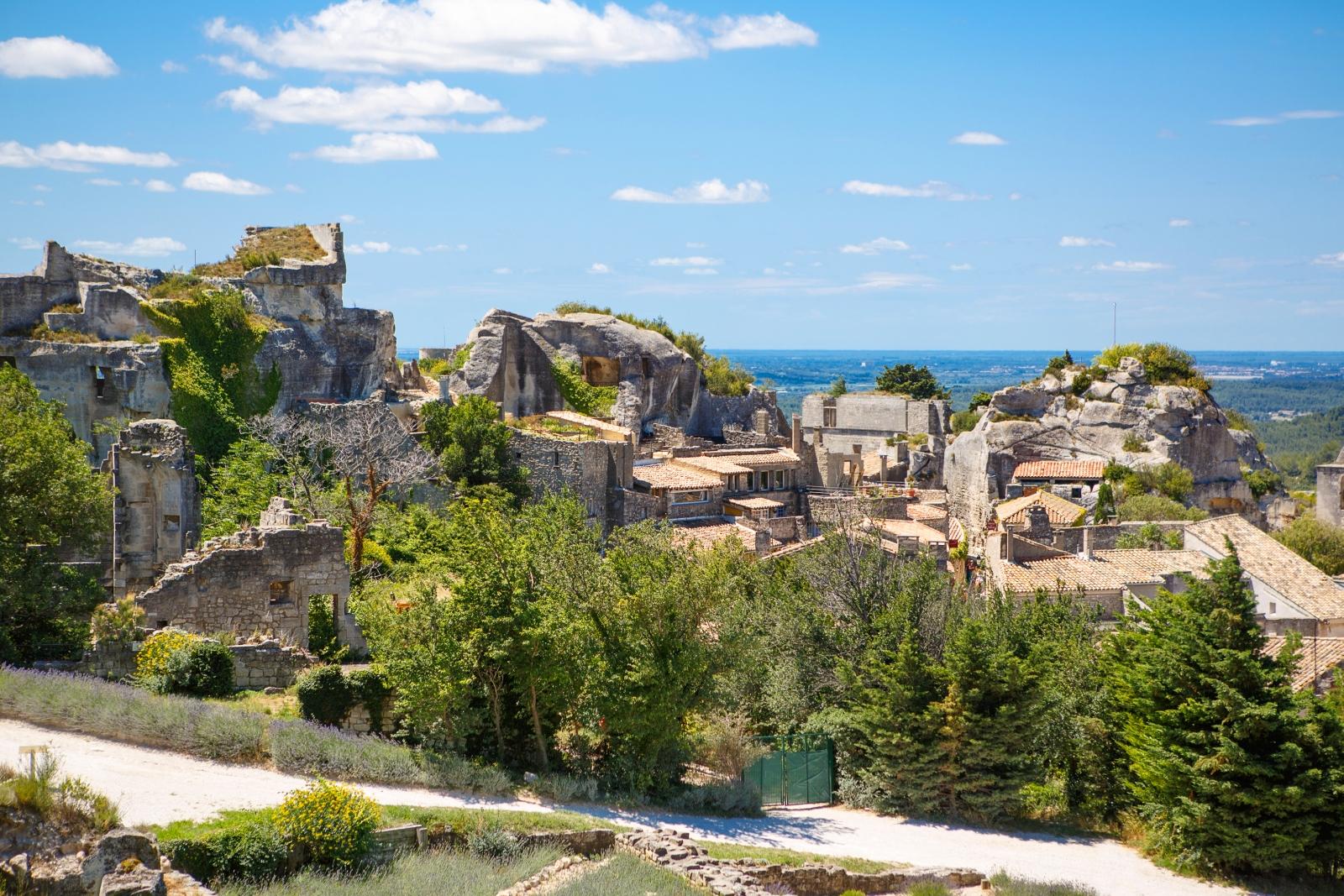 Les Baux De Provence Sch Ne Burgruine Provence