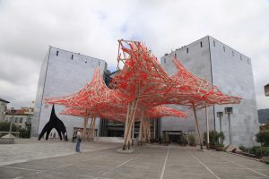 Das MAMAC wurde im Jahre 1990 an der Place Garibaldi in Nizza eröffnet.