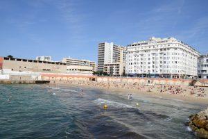 Die Plage des Catalans befindet sich rund 15 Minuten vom Alten Hafen entfernt.