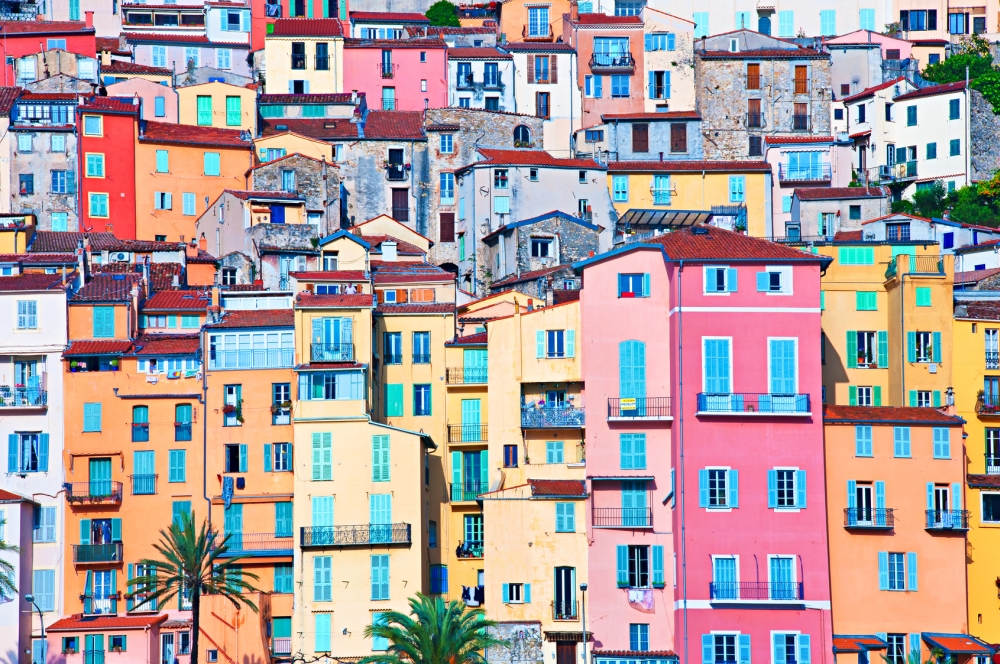 Häuser Italien menton die provence stadt an der grenze zu italien provence info de