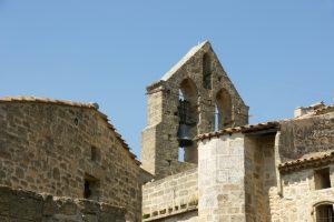 Der alte Kirchturm zeigt die langjährige Historie der Stadt Miramas, welche im 5. Jahrhundert v. Chr. als Dorf gegründet wurde.