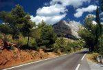 Das Gebirge liegt ganz in der Nähe von Aix-en-Provence.