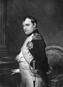 Napoleon Bonaparte war ein französischer General, revolutionärer Diktator und Kaiser.
