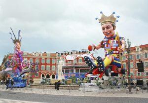 Auch im Winter lässt sich an der Côte d'Azur vieles erleben. Eine der spektakulärsten Attraktionen ist der Karneval in Nizza, der zu den größten der Welt gehört.