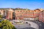 Der Place Masséna ist ein zentral gelegener Platz in Nizza.
