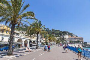 Im Jahr 2020 wird die Promenade des Anglais in Nizza vermutlich Teil der Tour de France sein.