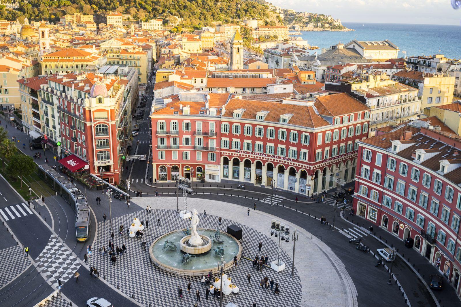 Altstadt Nizza Karte.Nizza Die Kulturelle Hauptstadt Der Cote D Azur