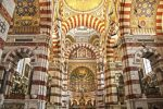 Notre-Dame de la Garde wird jährlich von zwei Millionen Menschen besucht.
