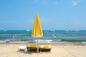 Der bekannteste Strand der Gemeinde ist die Plage de Pampellone.