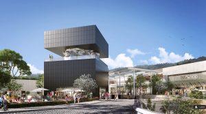 """Im Oktober eröffnet das Mega-Einkaufszentrum """"Polygone Riviera"""" in Cagnes-sur-Mer an der Côte d'Azur. Die riesige Shopping-Mall schafft 1.500 Arbeitsplätze. Foto: polygone-riviera.fr"""