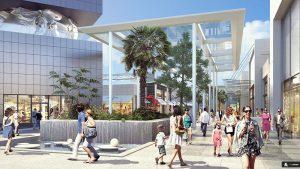 Rund 150 Geschäfte auf 70.000 Quadratmeter sollen für Begeisterung bei den Besuchern sorgen. Foto: polygone-riviera.fr