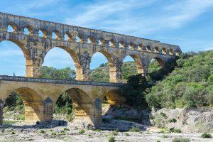 Der Pont du Gard war einst Teil einer etwa 50 km langen Wasserleitung.