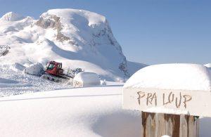 """Pra-Loup bildet gemeinsam mit La Foux d'Allos das Skigebiet """"Espace Lumière"""". Es ist das fünftgrößte Skigebiet in den Südalpen. Foto: praloup.com"""