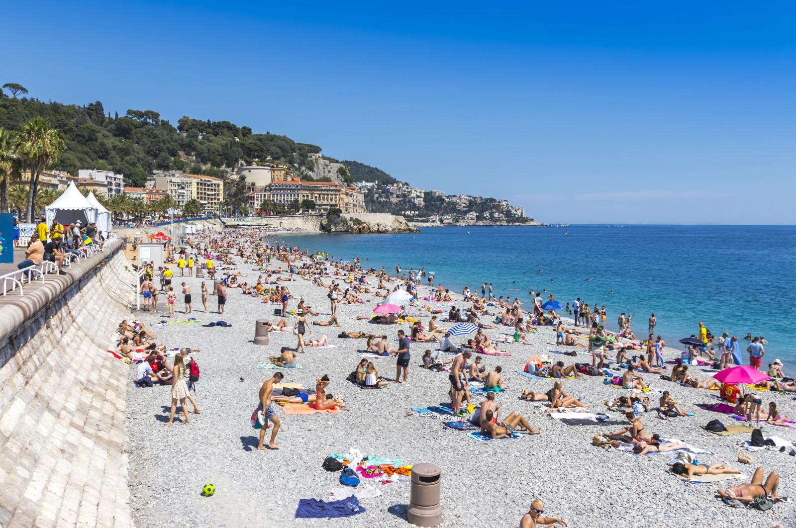 So voll wie hier in Nizza vor einigen Jahren wird es an den Stränden der Provence in nächster Zeit wohl nicht werden.