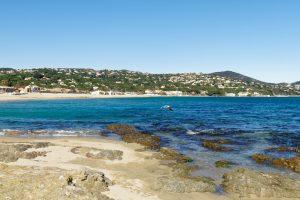 """Der Strand """"Plage de la Nartelle"""" eignet sich bestens für Familien mit Kindern."""