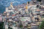 Saorge liegt in den französischen Seealpen und grenzt im Osten an Italien.