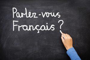 Die stolzen Franzosen haben oftmals ein Problem damit, auf Anhieb Fremdsprachen zu benutzen.