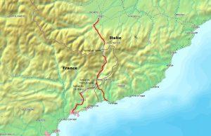Die Tendabahn verbindet die italienische Stadt Turin mit dem französischen Nizza. Foto: By Markus Schweiss [CC BY-SA 3.0], via Wikimedia Commons
