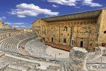 Das Theater von Orange, ein antikes römisches Theater in Südostfrankreich.