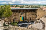 Das Theater von Orange wurde im 1. Jahrhundert n. Chr. erbaut.
