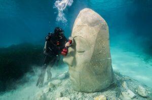 Jason deCaires Taylor ist bekannt für seine Unterwassermuseen. Foto: Jason deCaires Taylor