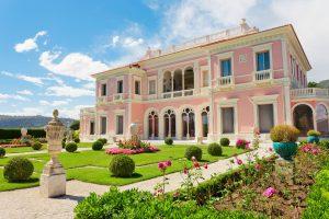 Garten der Villa Ephrussi de Rothschild