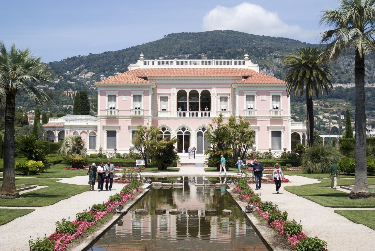 Villa Ephrussi - Ein Stück mediterraner Kultur - provence-info.de